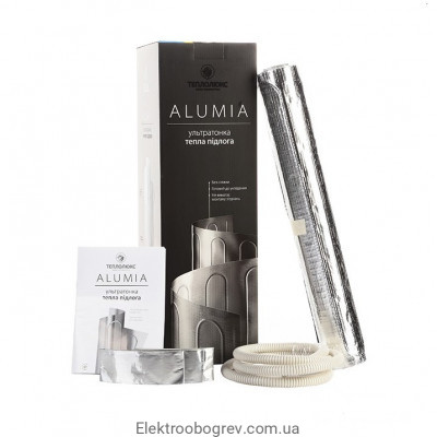 Teploluxe Alumia Мат теплого пола на фольге 1200 Вт, 8м2