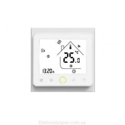 Терморегулятор для теплого пола Castle TWE02 WiFi, белый