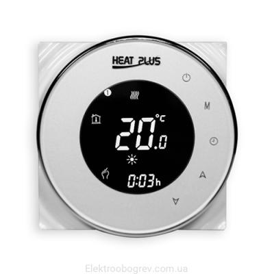 Терморегулятор для теплого пола Heat Plus BHT 5000 Белый