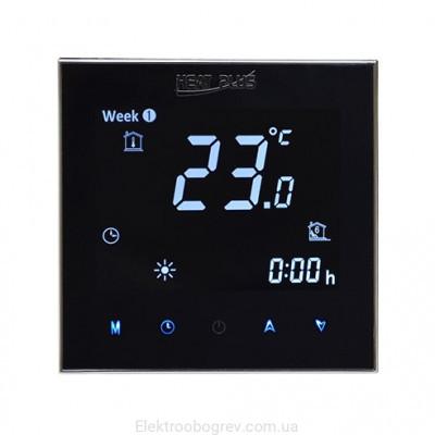 Терморегулятор для теплого пола Heat Plus BHT 2000B WI-FI Черный