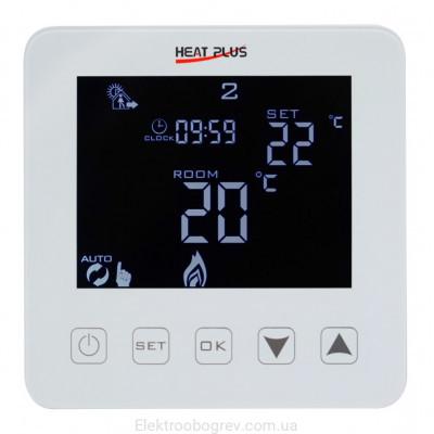 Терморегулятор для теплого пола Heat Plus BHT-320 Белый