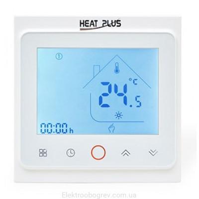 Терморегулятор для теплого пола Heat Plus BHT 002 Белый
