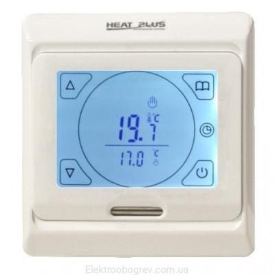 Терморегулятор для теплого пола Heat Plus M9.716 Белый