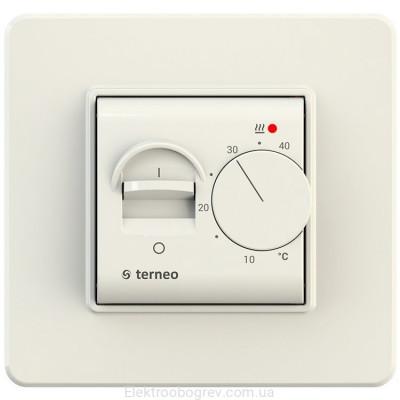 Терморегулятор terneo mex, слоновая кость
