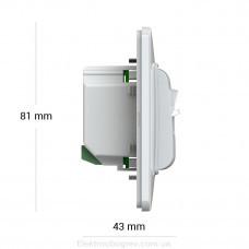 Терморегулятор terneo mex, белый