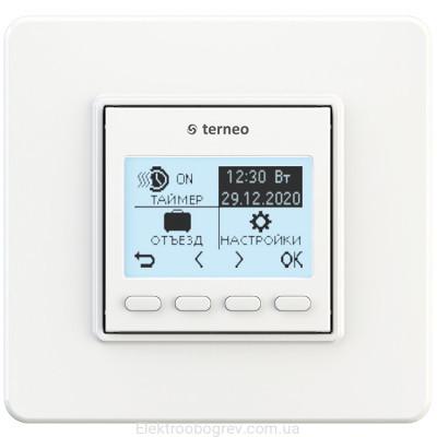 Терморегулятор terneo pro, белый