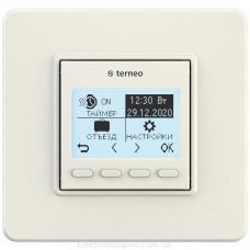 Терморегулятор terneo pro, слоновая кость