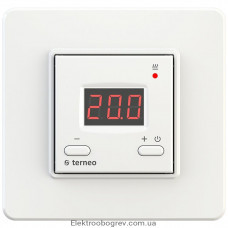 Терморегулятор terneo vt, белый