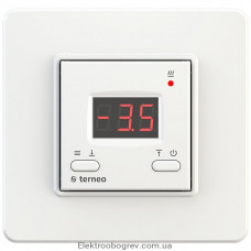 Терморегулятор terneo kt, белый