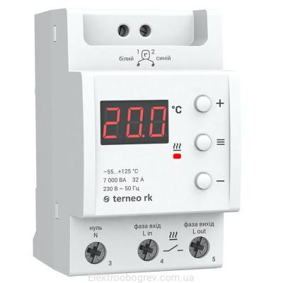 Терморегулятор terneo rk на 32А